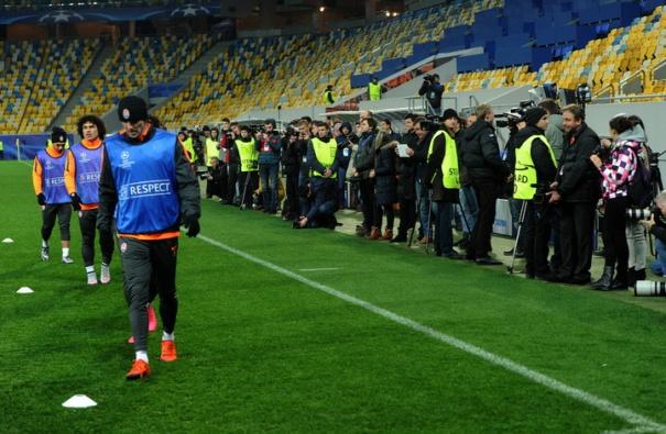 Шахтер готовится к матчу с Реалом