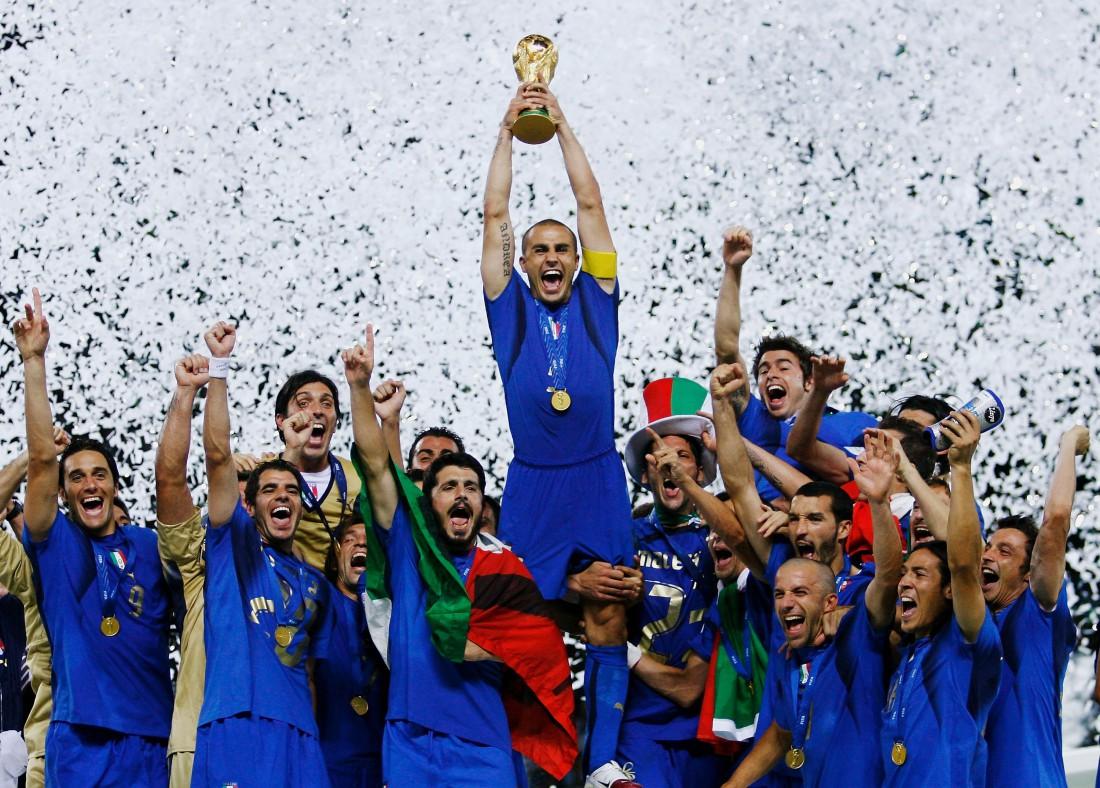 Сборная Италии выиграла чемпионат мира в 2006 году