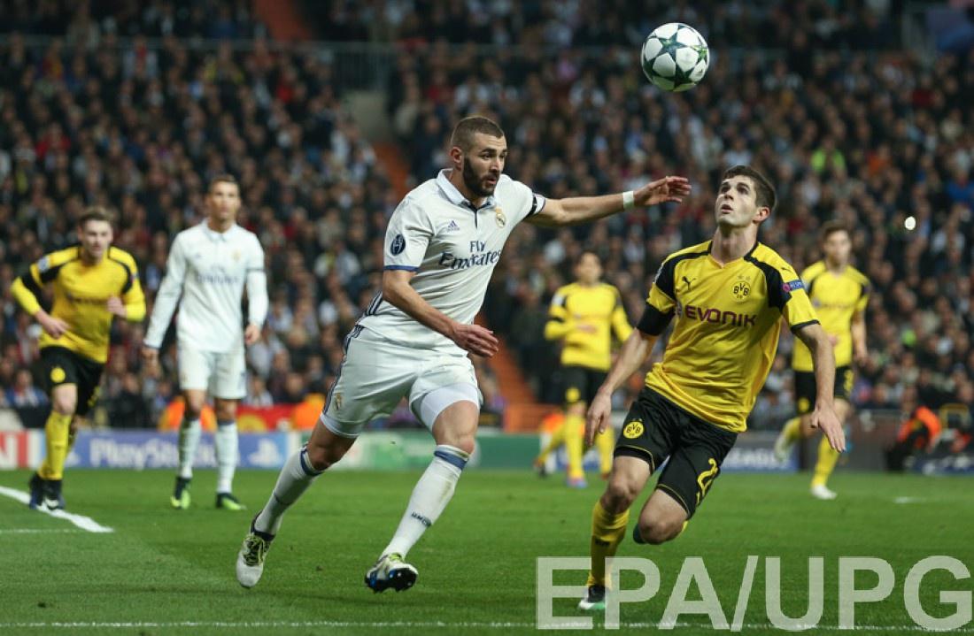 Реал Мадрид и Боруссия Дортмунд сыграли выничью