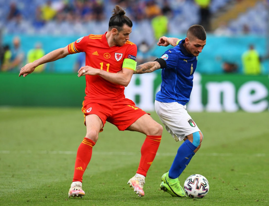 Сборная Италии - сборная Уэльса