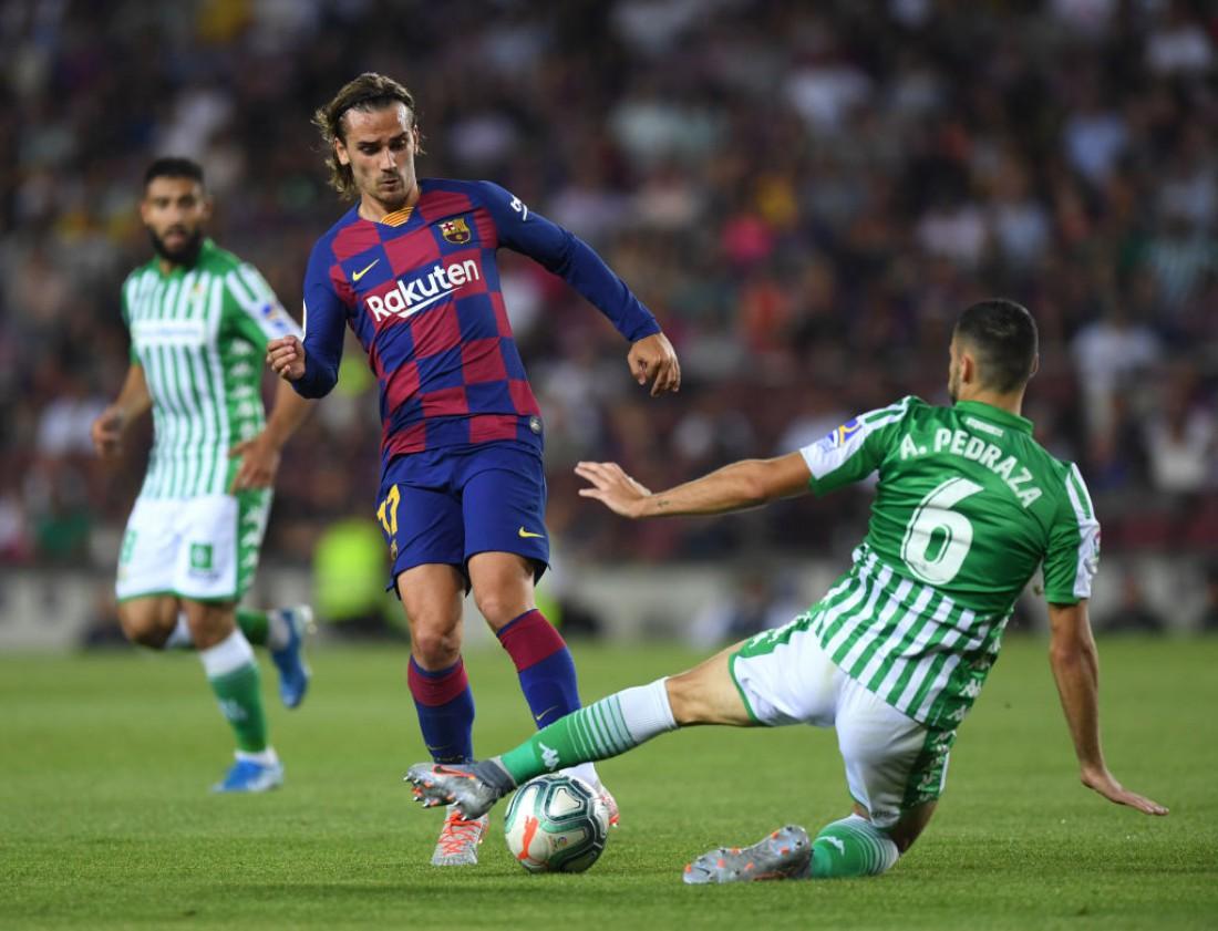Барселона - Реал Бетис: видео голов