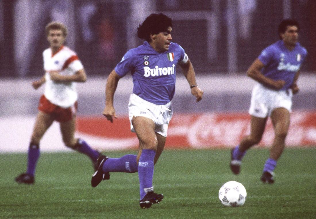 Диего Марадона 1987 год