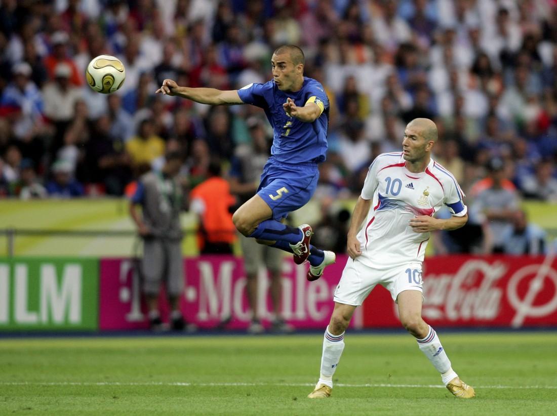 Зидан и Каннаваро (финал ЧМ-2006)