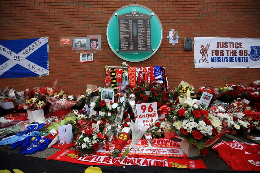 Мемориал памяти в честь погибших на Хиллсборо