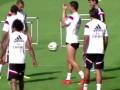 Роналду показал средний палец партнеру по Реалу