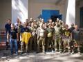 Металлист побывал на учебно-тренировочной базе батальона Азов