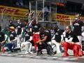 Райкконен, Леклер и еще четыре пилота не встали на одно колено перед гонкой в Австрии