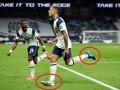 Игрок Тоттенхэма отыграл матч против Челси в разных бутсах