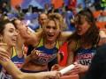 Украинки - бронзовые призерки чемпионата Европы в эстафете 4 по 400 м