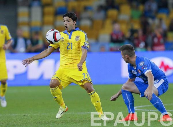 Эдмар в составе национальной сборной Украины