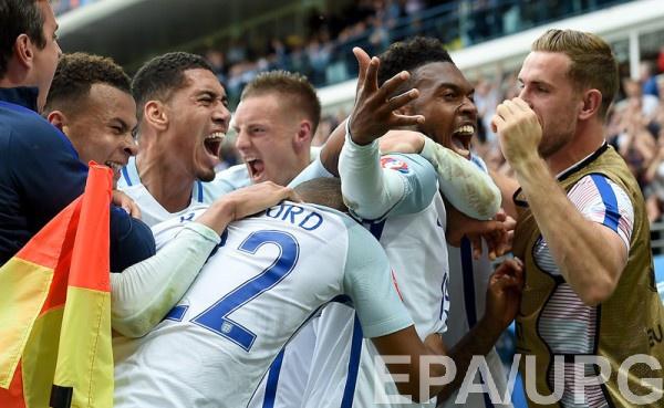 Англия празднует первую победу на Евро-2016