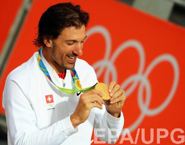 Фабиан Канчеллара с золотой медалью