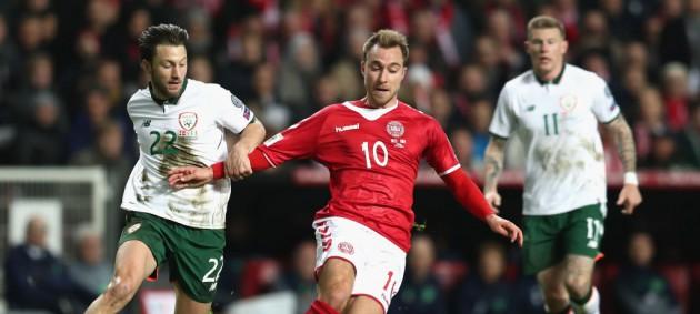 Дания и Ирландия сыграли вничью в отборе на ЧМ-2018