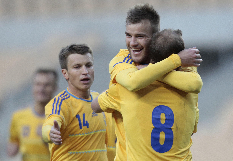 Украина переиграла Норвегию
