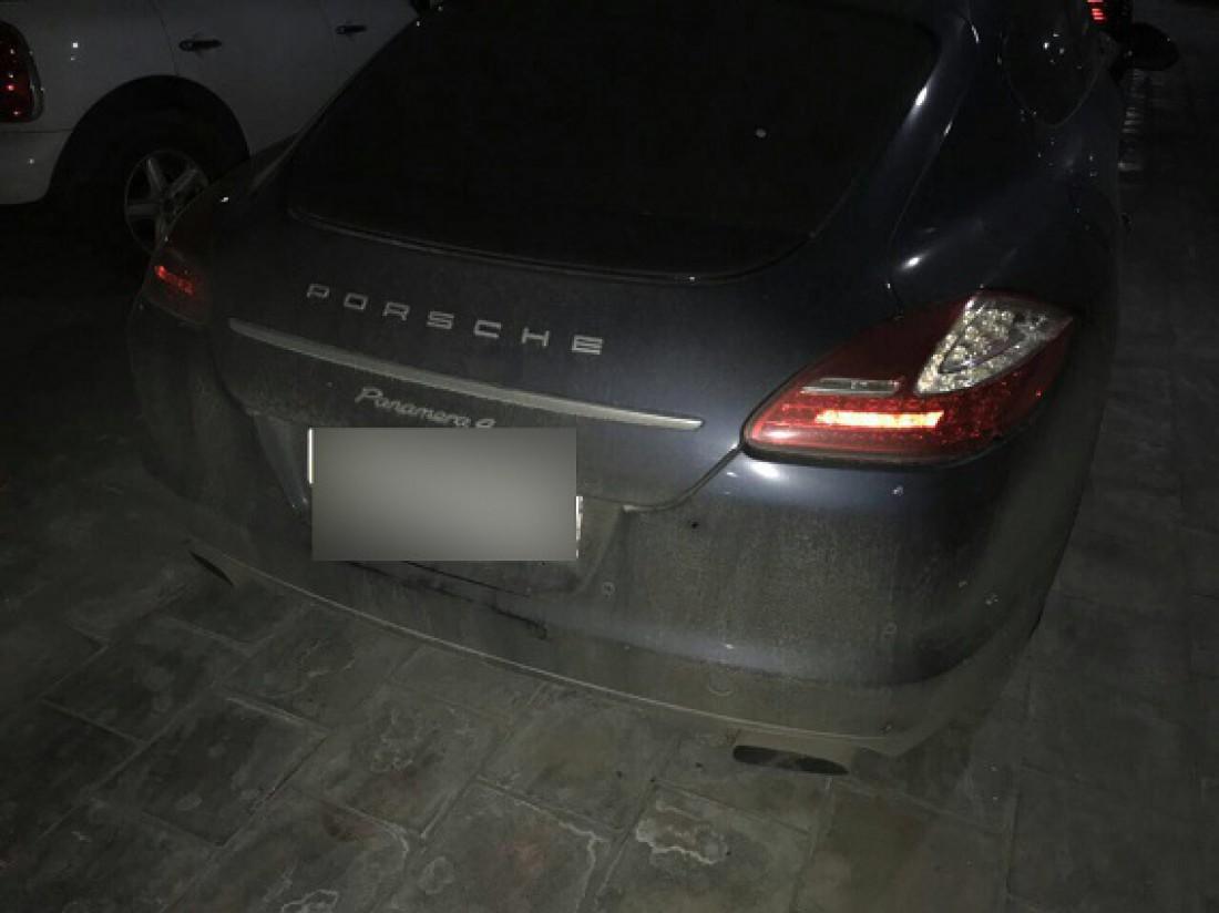 Машину Гармаша обстреляли неизвестные