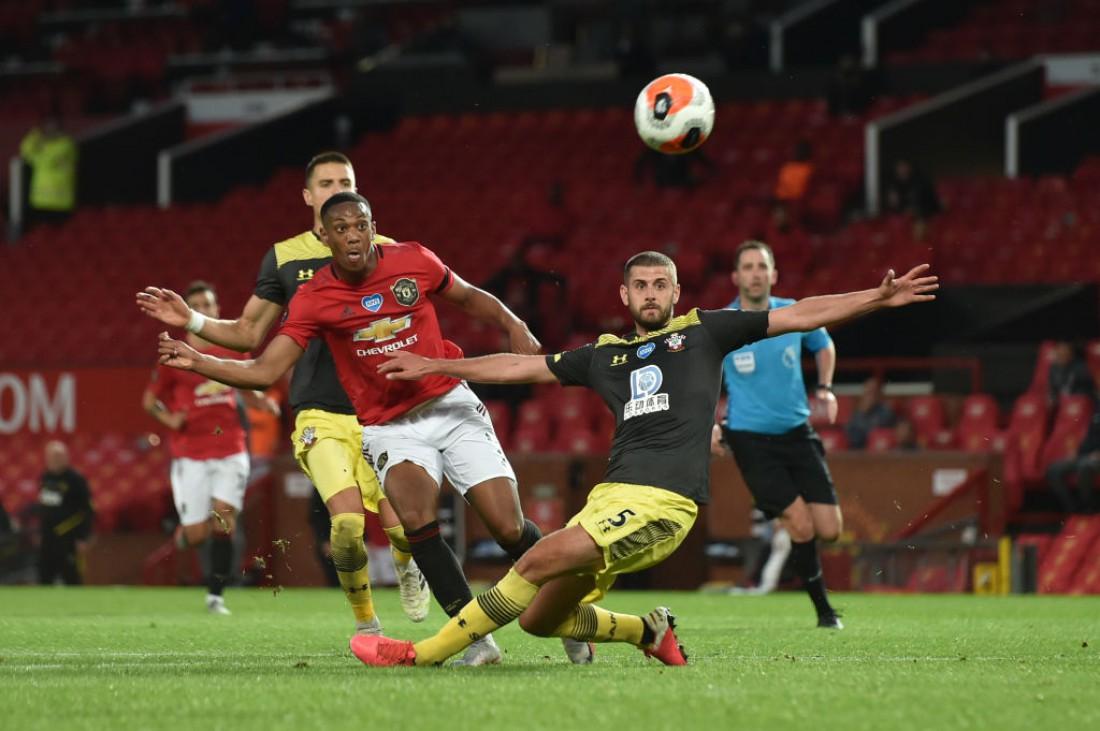 Манчестер Юнайтед - Саутгемптон: видео голов