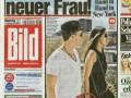 Полузащитник Баварии променял модель на теннисистку?