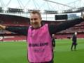 Ворскла протестировала стадион Арсенала в Лондоне