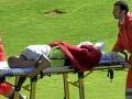 Испанский футболист чуть не умер на футбольном поле