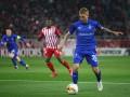 Динамо вырвало ничью в матче Лиги Европы против Олимпиакоса