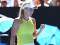 Возняцки отыгралась со счета 1:5 в решающем сете на Australian Open