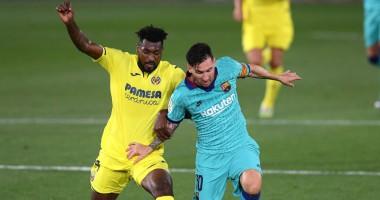 Вильярреал - Барселона 1:4 видео голов и обзор матча чемпионата Испании