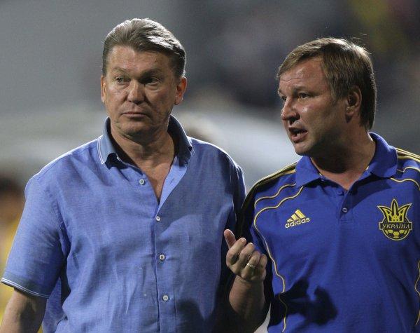 Блохин снова возглавил сборную Украины, Калитвинцев стал его помощником
