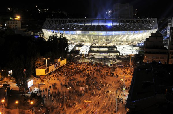 Главная арена Евро-2012