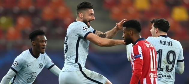 Челси минимально обыграл Атлетико в Бухаресте