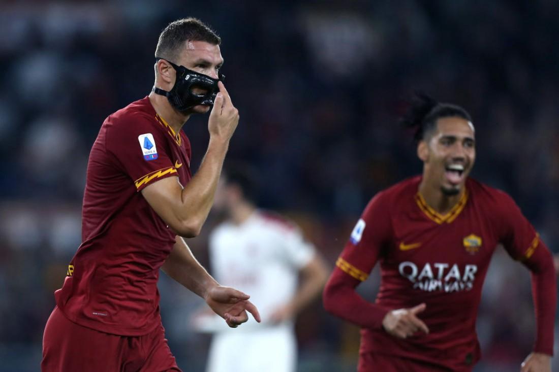 Рома - Милан: видео голов