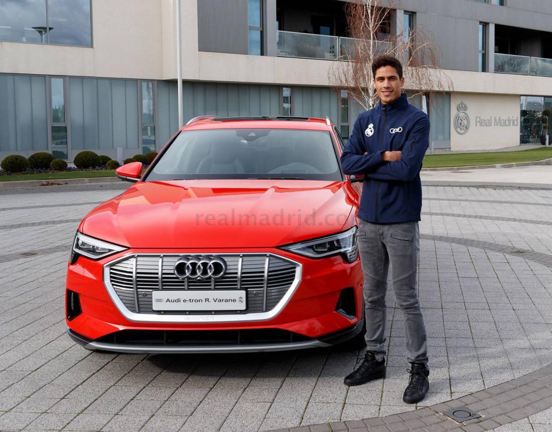 Серхио Рамос с новой Audi