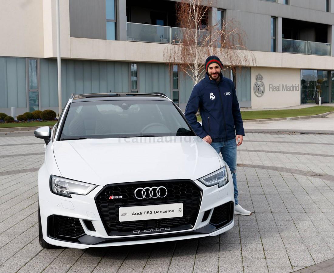 Карим Бензема с новой Audi RS 3