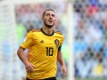 Азар признан лучшим игроком матча Бельгия - Англия