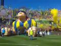 Аргентинские фанаты устроили сумасшествие в виде красочного перфоманса