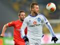 Ярмоленко забил лучший гол 3-го тура Лиги Европы