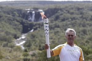 Рио-2016: Как по Бразилии путешествует олимпийский огонь