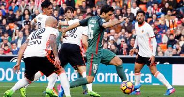 Валенсия - Атлетик Бильбао 2:0 Видео голов и обзор матча чемпионата Испании