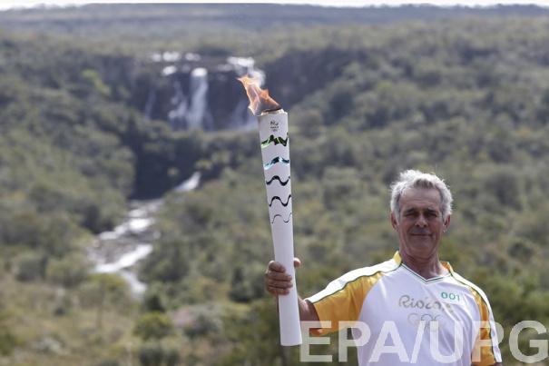 Путешествие олимпийского огня по Бразилии