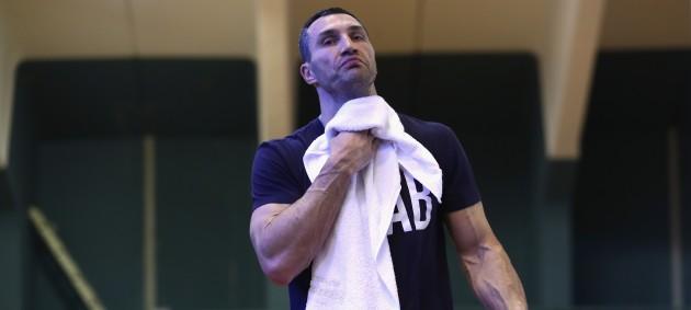 Кличко вышел впервые на ринг после завершения карьеры