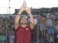 Фанаты посетили последнюю тренировку Тотти в Роме