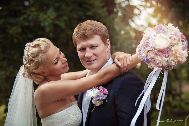 Александр Поветкин женился во второй раз в июле 2013 года