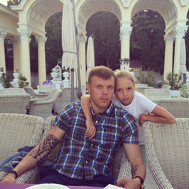 Алексей Гай отдыхал в Ялте с семьей