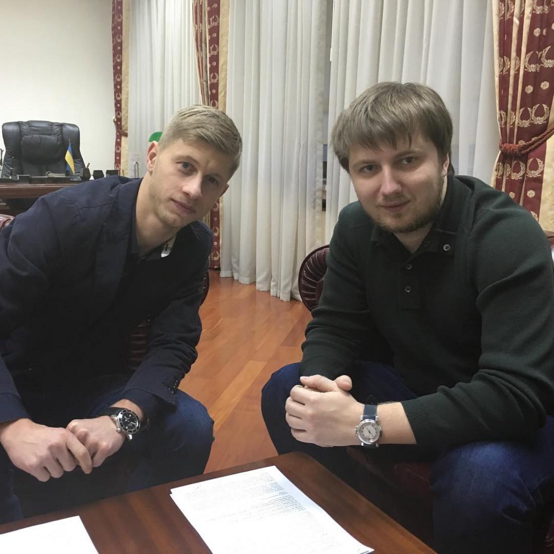 Вадим Шаблий вместе с Валерием Федорчуком