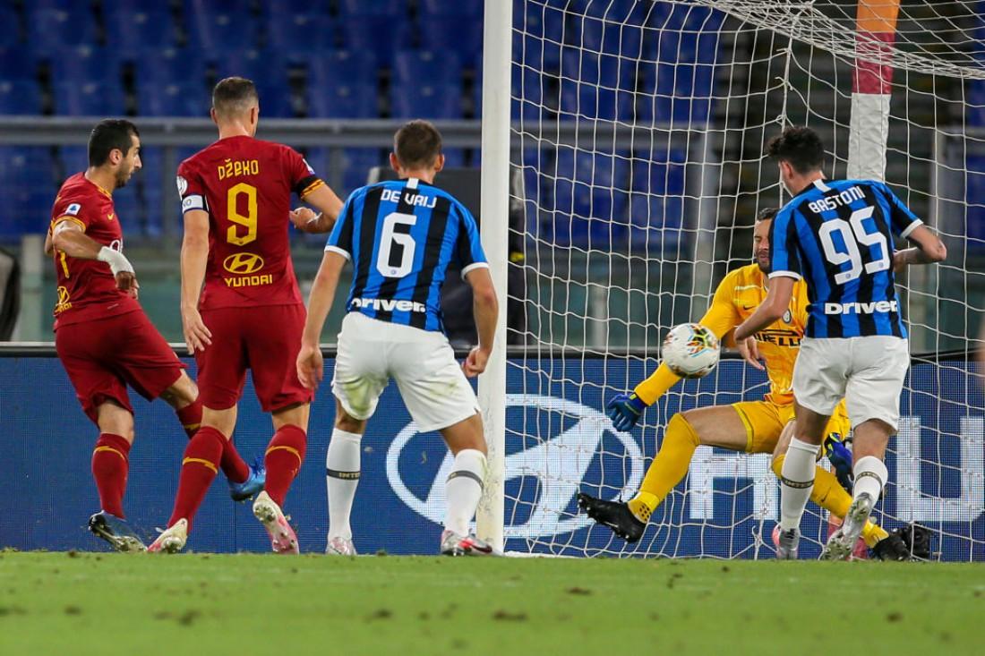 Рома - Интер: видео голов и обзор матча