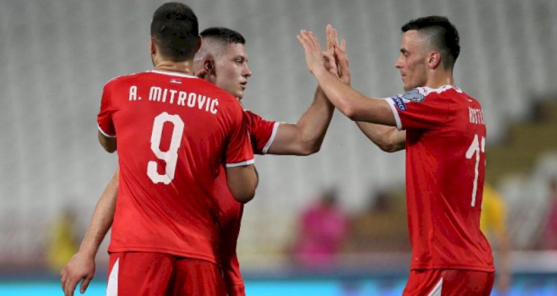 Сербия победила Литву