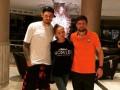 Бойко с женой приехали поддержать Селезнева в Лиге Европы