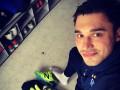 Вратарь Динамо примерил боксерские перчатки