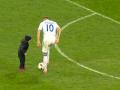 Ярмоленко учил сына забивать голы на матче Динамо - Олимпик