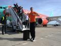 Испания встретила Шахтер теплой солнечной погодой