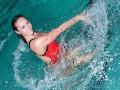 Украинская синхронистка Волошина похвасталась роскошной фигурой в купальнике
